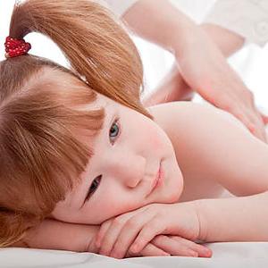 Vaikų viso kūno masažas