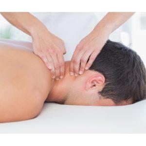 galvos ir Pečių juostos masažas