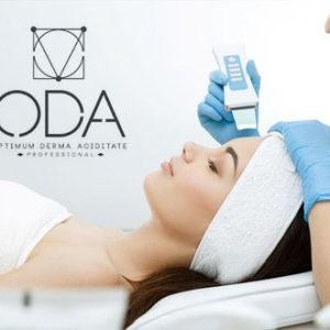O.D.A rūgštinis veido valymas su ultragarsu 5 kartų kursas