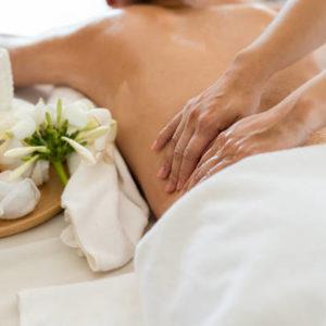 gydomasis masažas su bergamočių eteriniu aliejumi
