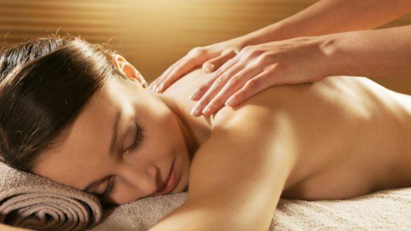 galvos, pečių juostos ir rankų masažas